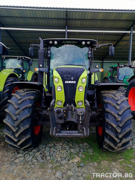Трактори Claas ARION 640  (НАЛИЧЕН) 1