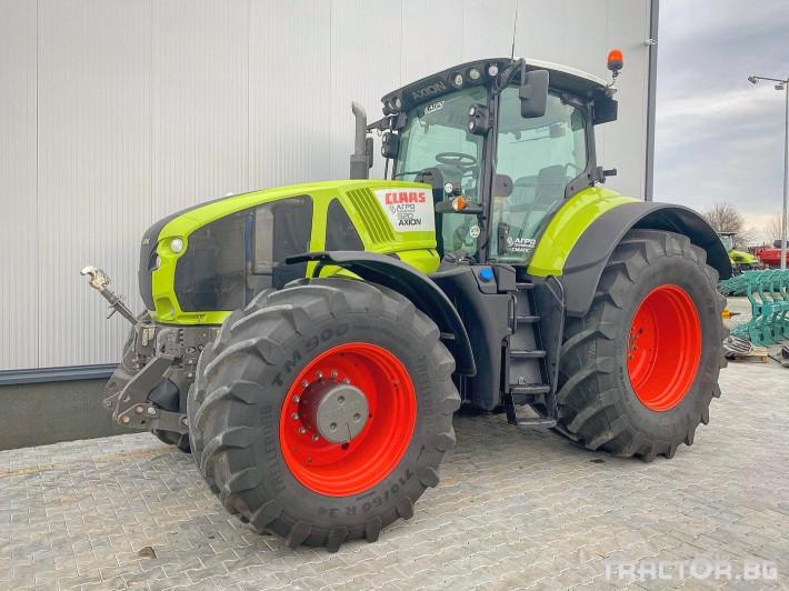 Трактори Claas AXION 920 (НАЛИЧЕН) 0 - Трактор БГ