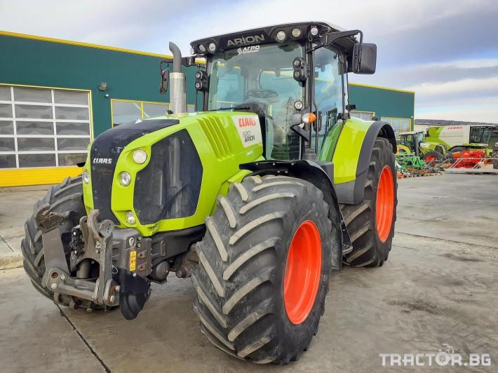 Трактори Claas ARION 620 CMATIC (НАЛИЧЕН) 0 - Трактор БГ
