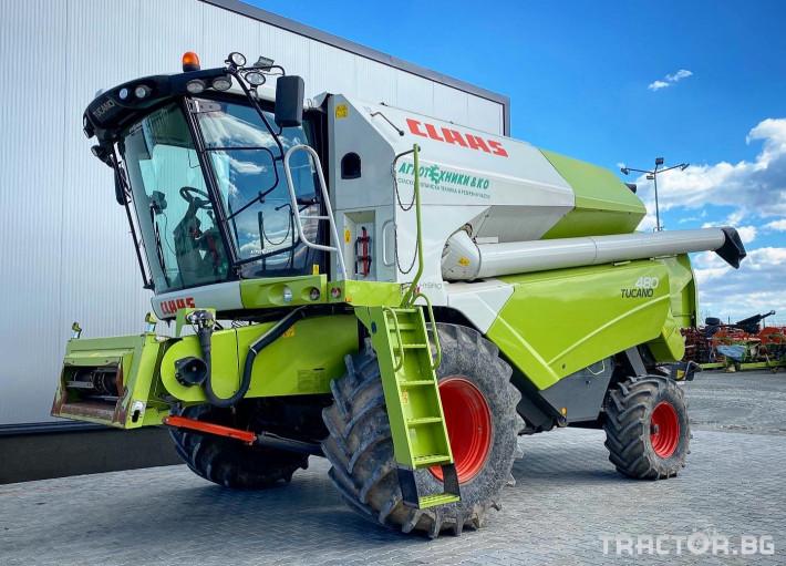 Комбайни Claas TUCANO 480 (НАЛИЧЕН) 0 - Трактор БГ