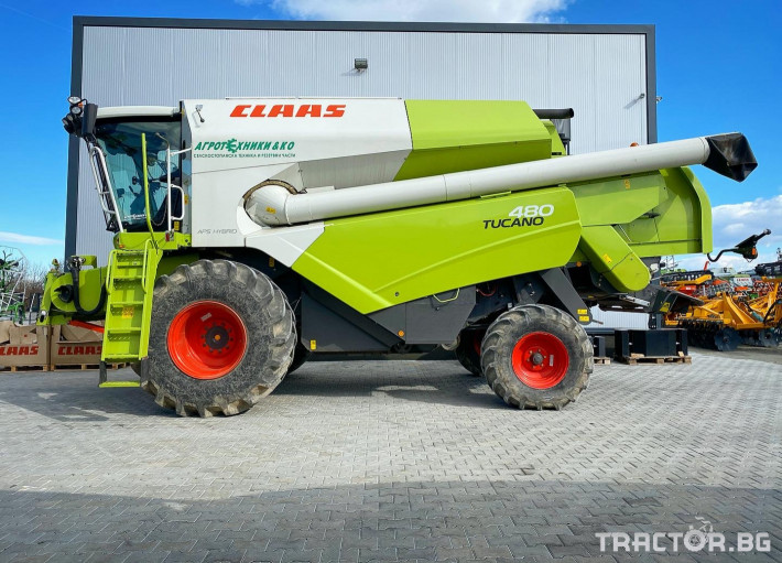Комбайни Claas TUCANO 480 (НАЛИЧЕН) 1 - Трактор БГ