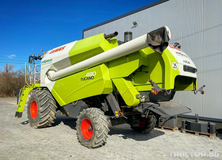 Комбайни Claas TUCANO 480 (НАЛИЧЕН) 2 - Трактор БГ