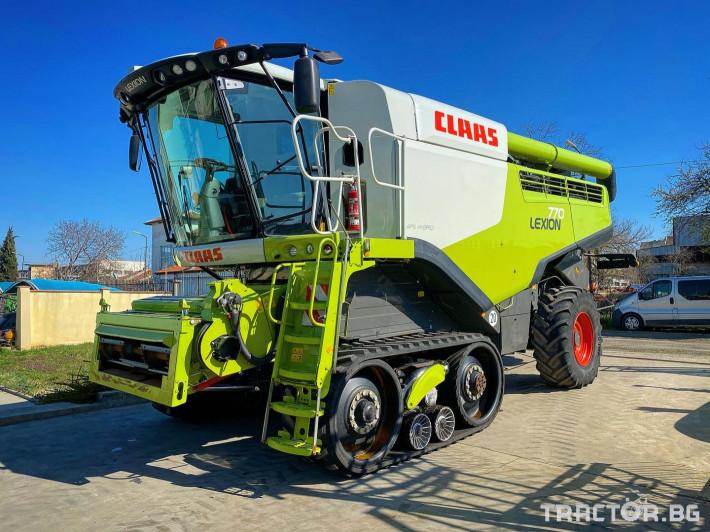 Комбайни Claas LEXION 770 TERRA TRAC (НАЛИЧЕН) 0 - Трактор БГ