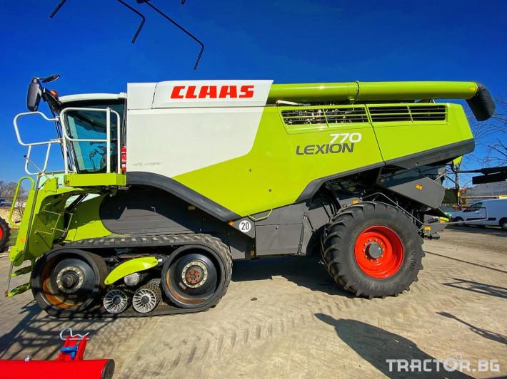 Комбайни Claas LEXION 770 TERRA TRAC (НАЛИЧЕН) 1 - Трактор БГ
