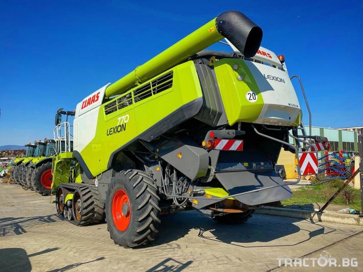 Комбайни Claas LEXION 770 TERRA TRAC (НАЛИЧЕН) 2 - Трактор БГ