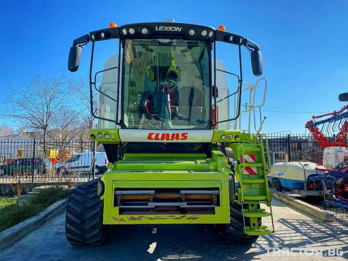 Комбайни Claas LEXION 770 TERRA TRAC (НАЛИЧЕН) 4 - Трактор БГ
