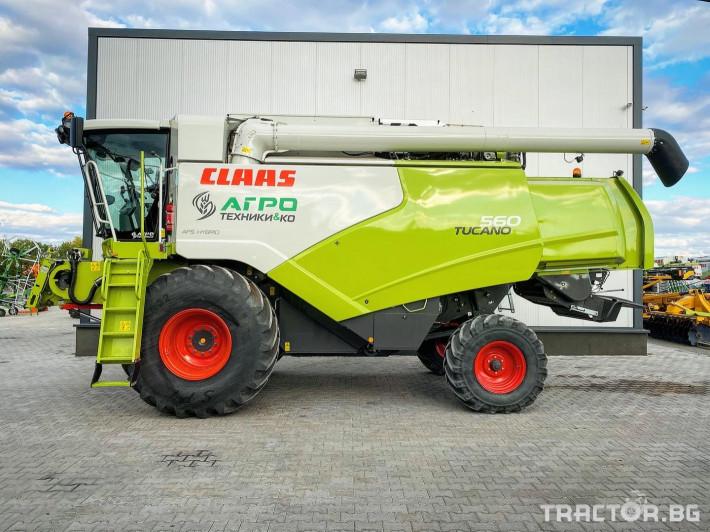 Комбайни Claas TUCANO 560 (НАЛИЧЕН) 1 - Трактор БГ