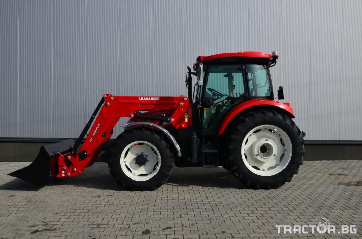 Трактори Basak 2110S + FL 3800 1 - Трактор БГ