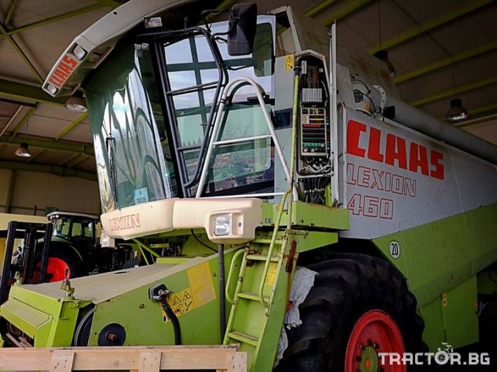 Комбайни Claas LEXION 460 0 - Трактор БГ