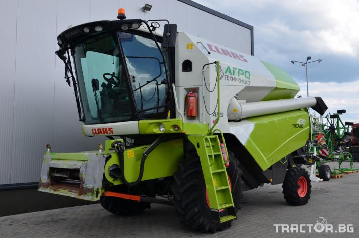 Комбайни Claas TUCANO 430 (НАЛИЧЕН) 0 - Трактор БГ