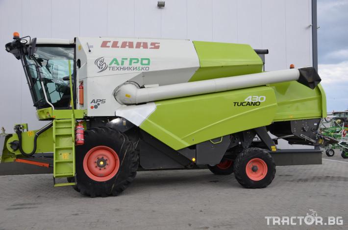 Комбайни Claas TUCANO 430 (НАЛИЧЕН) 2 - Трактор БГ