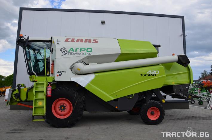 Комбайни Claas TUCANO 430 (НАЛИЧЕН) 3 - Трактор БГ