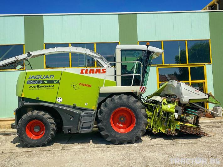 Комбайни Claas JAGUAR 890 (НАЛИЧЕН) 1 - Трактор БГ