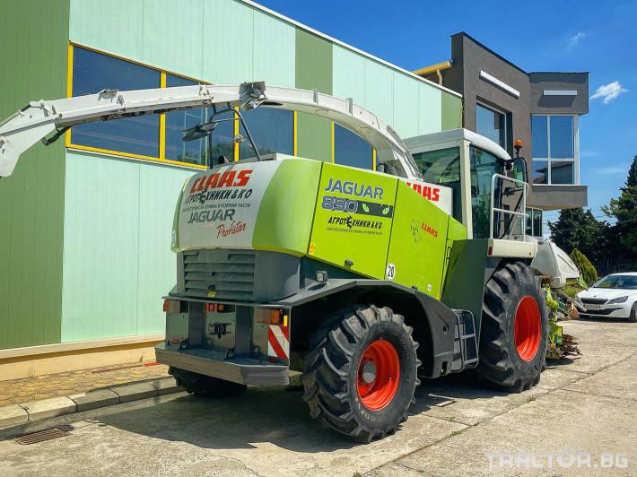 Комбайни Claas JAGUAR 890 (НАЛИЧЕН) 2 - Трактор БГ