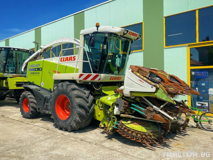 Комбайни Claas JAGUAR 890 (НАЛИЧЕН) 0 - Трактор БГ