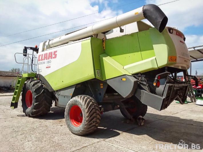 Комбайни Claas LEXION 580 2 - Трактор БГ