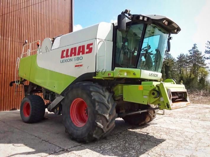 Комбайни Claas LEXION 580 5 - Трактор БГ