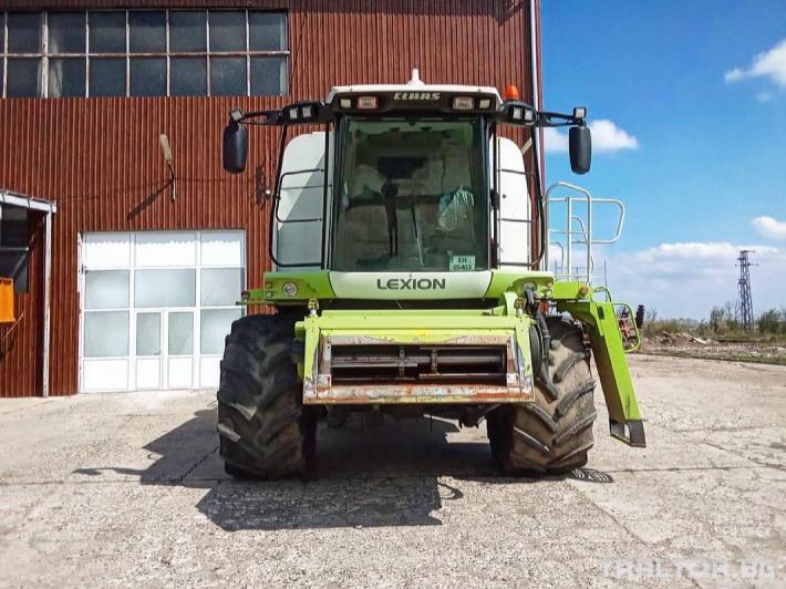 Комбайни Claas LEXION 580 6 - Трактор БГ