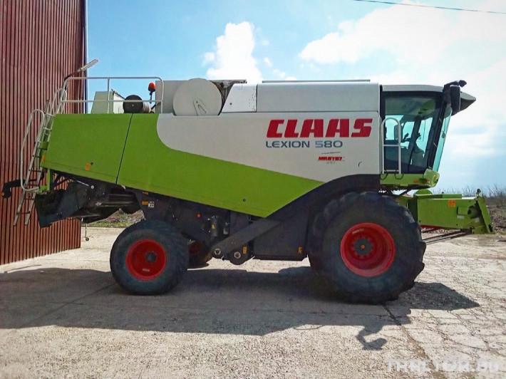 Комбайни Claas LEXION 580 4 - Трактор БГ
