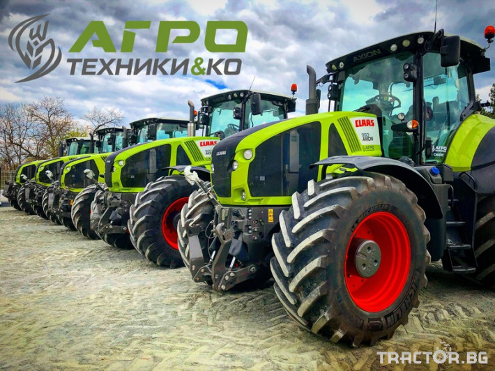 Комбайни Claas LEXION 580 0 - Трактор БГ