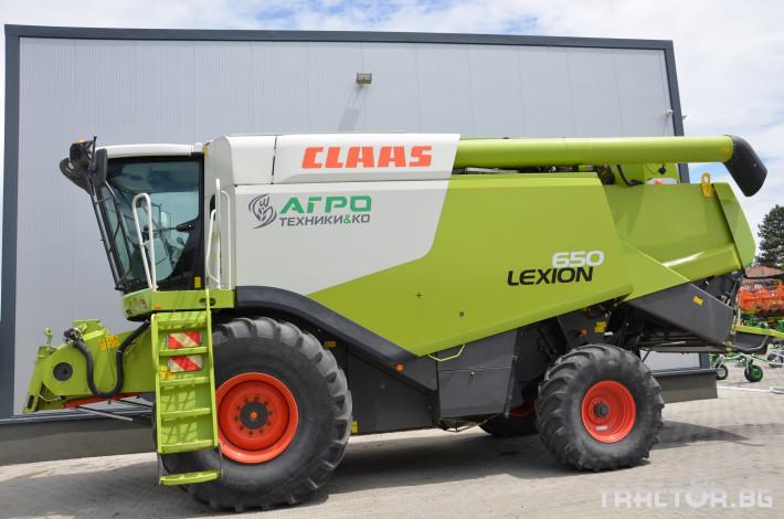 Комбайни Claas LEXION 650 2 - Трактор БГ