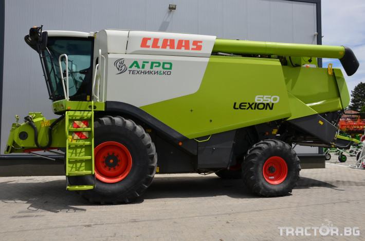 Комбайни Claas LEXION 650 3 - Трактор БГ