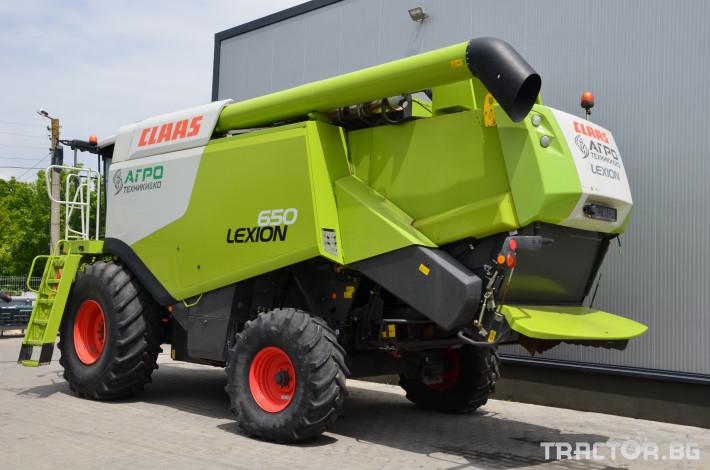 Комбайни Claas LEXION 650 4 - Трактор БГ