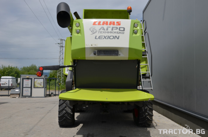 Комбайни Claas LEXION 650 5 - Трактор БГ